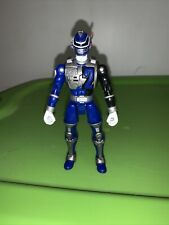 "BLUE RANGER 2005 Bandai 5"" Action Figure LIGHT PATROL POWER RANGERS SPD Warrior"