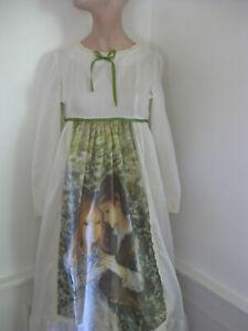 1970s San Francisco Gunne Sax era SWEET LOVE Prairie Hippie Maxi dress Gown vtg
