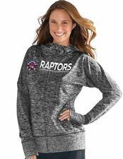 NWT NBA G-III 4HER WOMEN'S TORONTO RAPTORS FULL ZIP RECEIVER HOODIE SIZE S