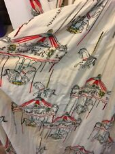 Anthropologie Daughters Of The Revolution Maci Carousel Horse Print Euc 0 XS