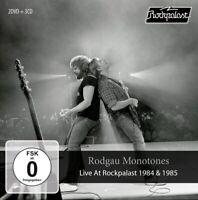 RODGAU MONOTONES - LIVE AT ROCKPALAST 1984 & 1985 (3CD+2DVD BOX)   CD+DVD NEUF