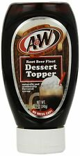 A&W Root Beer Float Dessert Topper, 12-Ounce