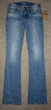 New True Religion Jeans 24 Becca Bootcut Mid Rise Thick Stitching Twisted Seam