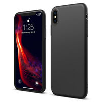 Coque protection pour Apple iPhone XR XS X 6S 6 7 8 Soft Touch Case Cover Slim