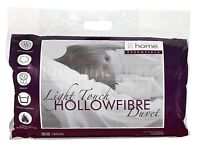 Catherine Lansfield 4.5 TOG Light Touch Hollowfibre Duvet/Quilt Non Allergenic
