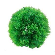 """Planta bola de hierba artificial de plastico verde del tanque de pesca 5.1"""" O8O2"""