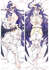 "New Overlord Albedo Wedding Dakimakura Anime Body Pillow Cover Case 150x50 59"""
