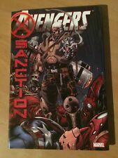 Avengers: X-Sanction Hardcover Marvel Comics