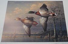 "1998/99 south carolina waterfowl assoc. stamp print ""Our Mallard Heritage"""
