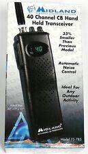 75-785 Midland 7-Watt, 40-Channel Portable Handheld Cb Radio
