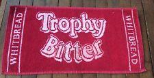 Vintage Whitbread Trophy Bitter Beer Bar Pub Towel Man Cave
