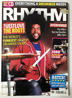 October 2004 RHYTHM MAGAZINE w/CD #103 ?UESTLOVE The Roots The Killers Zoro