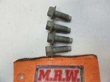 SET OF 4 BOLTS BOLT JACKSHAFT JACK SHAFT TO ENGINE MOTOR MOUNT BRACKET FRAME OEM
