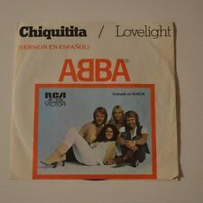 "ABBA - CHIQUITITA - 1979 MEXICO 7"" SINGLE SPANISH VERSION"