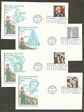 #3185 a-o Celebrate the Century 1930s Set of 15 Artmaster FDCs all different