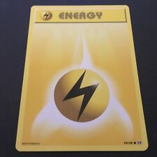 Pokemon TCG XY-Evolutions #94/108 'Lightning Energy' - Standard Common