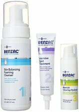 Galderma BENZAC Acne Solutions Complete Acne Solution Regimen (Damaged Box)