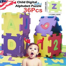 2020 36Pcs Baby Child Number Slphabet Puzzle Foam Maths Educational Toy Gift S