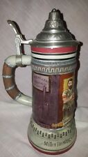 "Vtg.Miller Brewing Limited Edition Lidded Beer Stein""Skilled Coopers Circa 1887"""