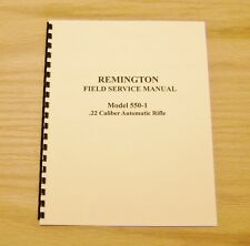 Remington Model 550-1 Field Service Manual - Gunsmith - #9