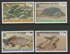 Ascension 2000 Turtles set SG 795-798 Mnh.