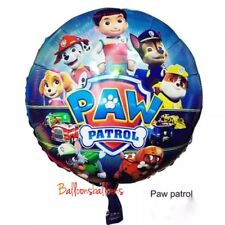 """18"""" Paw Patrol Foil Balloon Helium Party Birthday Decoration Chase"""