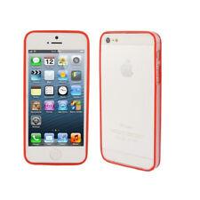 Bumper tpu rouge et transparent iphone 4/4s