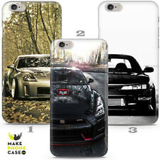 Nissan 200SX 350Z GTR Skyline Nismo Case Cover Apple iPhone 5 6 7 8 X Xr Xs Max