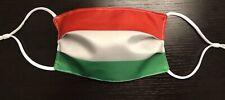 Hungary Flag Face Mask Washable Cotton Reusable Cloth Fabric Hungarian