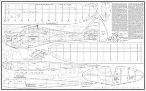 "Berkeley super sinbad plans scaled to 93"" CAD not original"