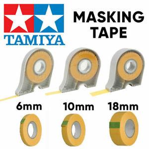 TAMIYA Masking Tape & Refills 1mm | 2mm | 3mm | 5mm | 6mm | 10mm | 18mm  Japan
