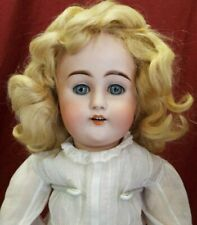 "Antique 21"" doll MY SWEETHEART by Adolf Wislizenus, Beautiful ANTIQUE CLOTHES"