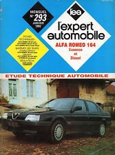 Revue Technique Automobile - Alfa Romeo 164 - Essence et Diesel - N° 293 - 1992