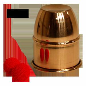 BRAND NEW MAGIC TRICKS- Copper Chop Cup