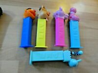 LOT OF 5 PCS PEZ DISPENSER CANDY RARE FIGURE/FIGURINE SET #007
