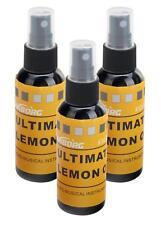 3er SET Griffbrettöl mit 60ml und Limonenaroma pfegt und schützt das Griffbrett