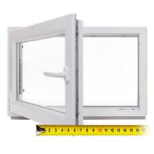 Kellerfenster Kunststoff Fenster Dreh Kipp 2 & 3 Fach Verglasung Zwischenmaße
