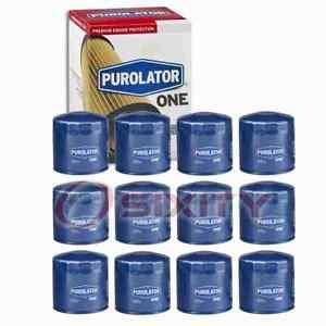 12 pc PurolatorONE PL14670 Engine Oil Filters for Oil Change Lubricant iz