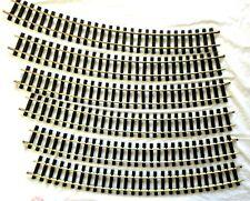 ARISTO CRAFT 11800 - 10' DIAMETER CURVE BRASS TRACK 6 PCS     NEW