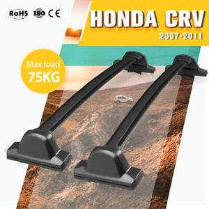Roof Rack Bars Fit Honda CRV 2007-2011 Cross Bar Baggage Rack SUV Black
