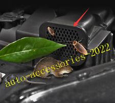 Black Reticulation Engine Air intake Dust Stuc Cover For Honda CR-V 2017-2020