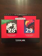 TWIN 28 black 29 color Lexmark ink - printer X2500 X5070 X5495 Z845 Z1300 Z1320