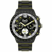 D&G Dolce & Gabbana DW0193 Navajo Armbanduhr Herren, Edelstahl, Quarz - Neu