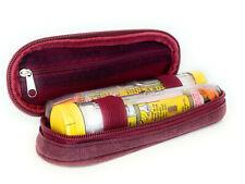 ICE Medical Red Twin Epipen Syringe Case - Allergies Diabetes Inhalers etc