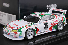 Ebbro 1:43 scale Castrol Tom's Toyota Supra JGTC 1995 Die Cast Model Racing Car