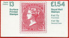 Fq3b £1.54 Qv Surface Rm Folded Booklet