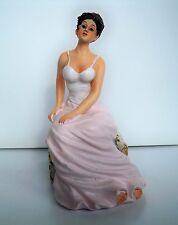 1:12  Sitz Puppe - Frau sitzend- Puppenhaus Miniatur
