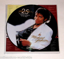 "NEW - MICHAEL JACKSON - THRILLER 25TH ANNIVERSARY 12"" VINYL PICTURE DISC / MINT"