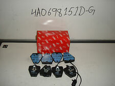 AUDI S8 FRONT PADS UPTO 1999 . 4A0698151D-G