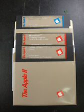 Apple IIC Software Getting Down to Basic - Drawing - System Utilities 5.25 Media